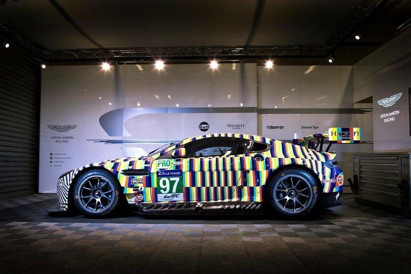Aston Martin Vantage GTE Тобиаса Ребергера