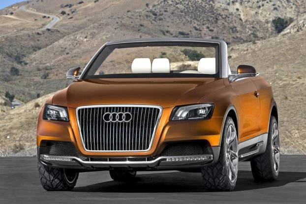 Audi Cross Cabriolet Quattro Concept » Just one MIN