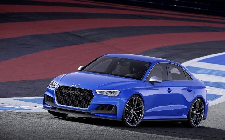 Audi презентует новый заряженный седан A3