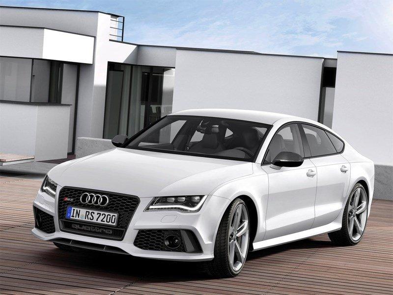 Audi RS7 2013 вид спереди
