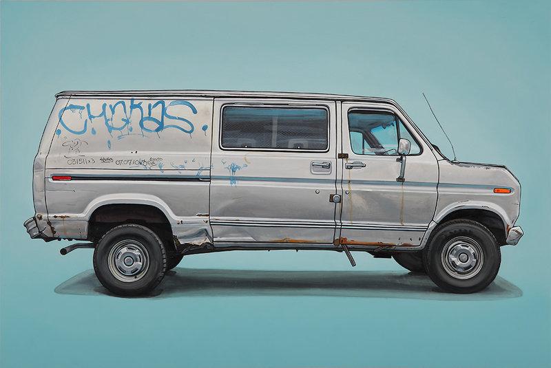 Автомобильные граффити от иллюстратора kevin cyr_5