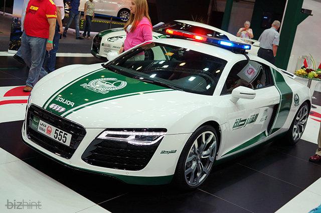 Автопарк дорожной полиции Дубая