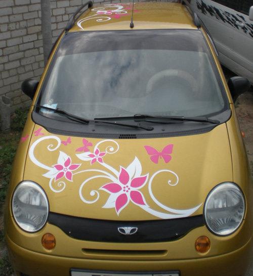Автовинил, фото и графика на автомобиле в Белгороде