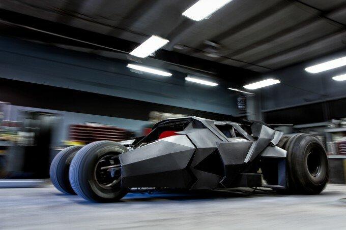Бэтмобиль Tumbler в мастерской Parker Brothers Concepts, штат Флорида, США. Фото: Team Galag Car