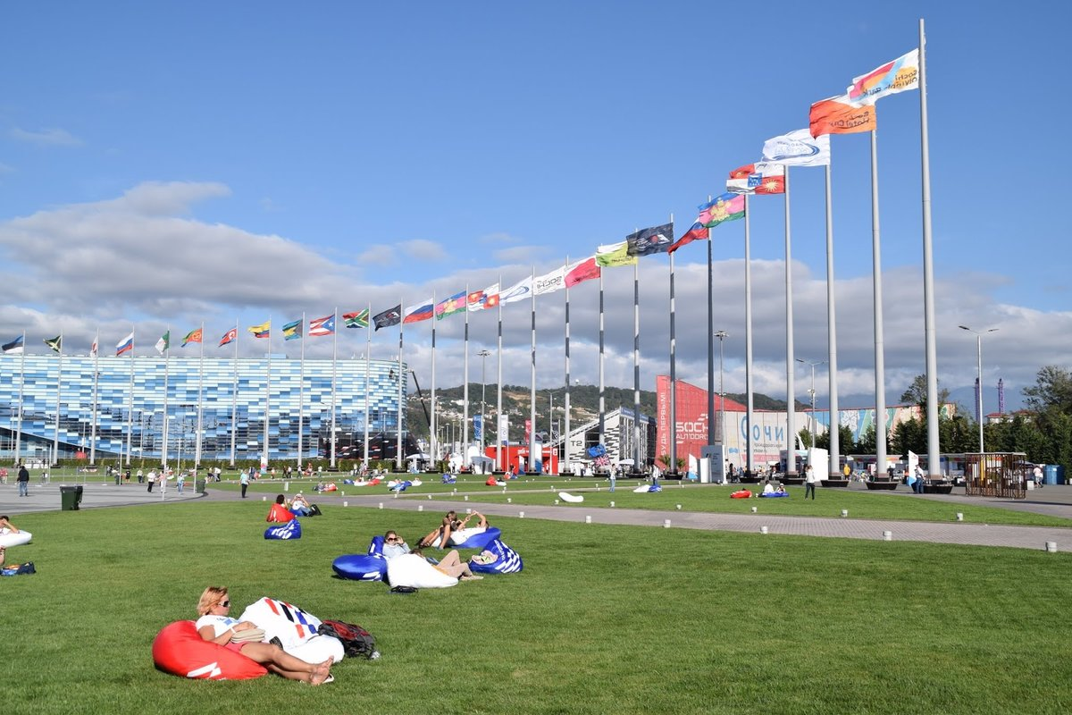 Блог Андрея Думчева: Formula 1 Гран-при России 2015 - четверг (фото отчет) Олимпийский парк и активности.