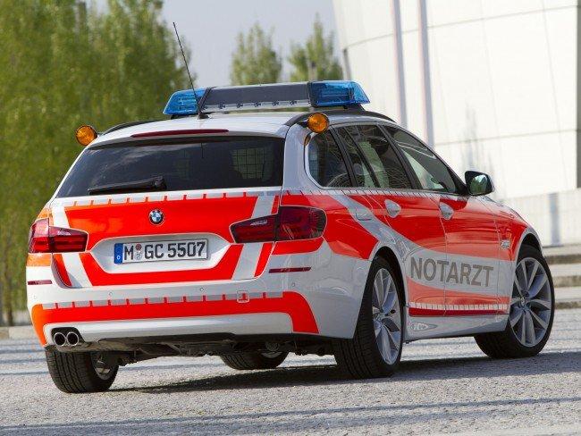 BMW 5-Series Touring Notarzt F11 2011