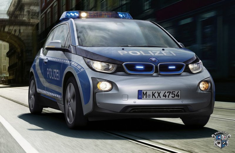 BMW i3 пополнили автопарк полиции в Мюнхена :: Новости BMW :: BMW BMW i Все BMW i :: RU BMW
