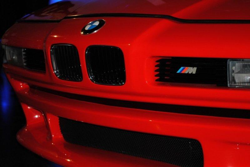 BMW M8 Concept E31 front close view hood