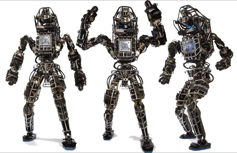 """Boston Dynamics: разработали робота """"Atlas"""""""
