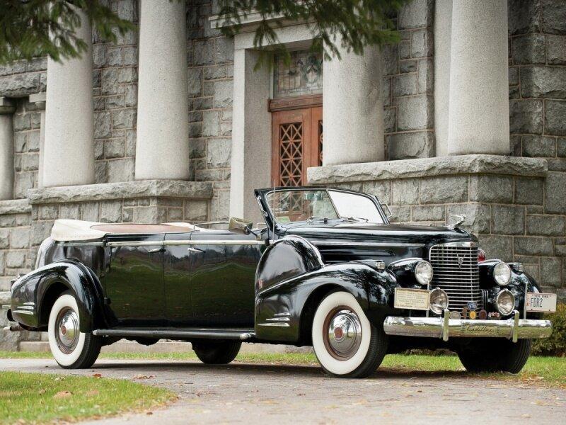 "Cadillac V16 Series 90 Presidential Convertible Limousine ""1938 новый размер"