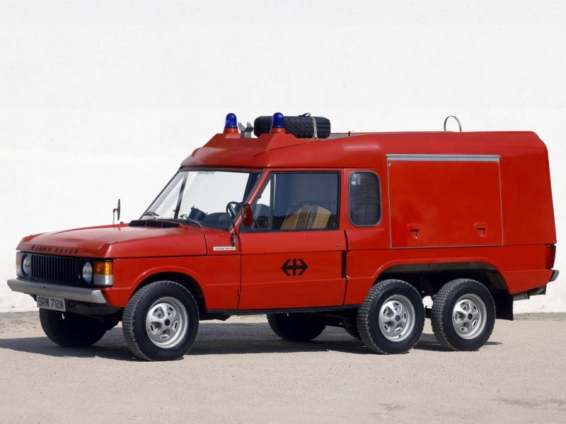 "Carmichael Commando VRG161T Fire Rescue ""1972–91 новый размер"