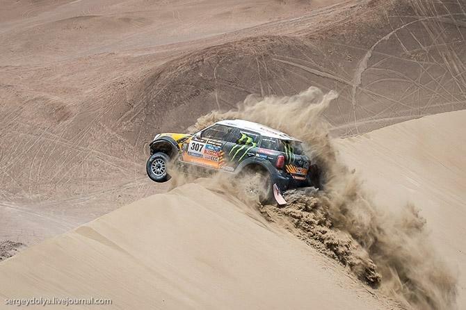 Дакар 2014. Опасные гонки в чилийской пустыне (37 фото)