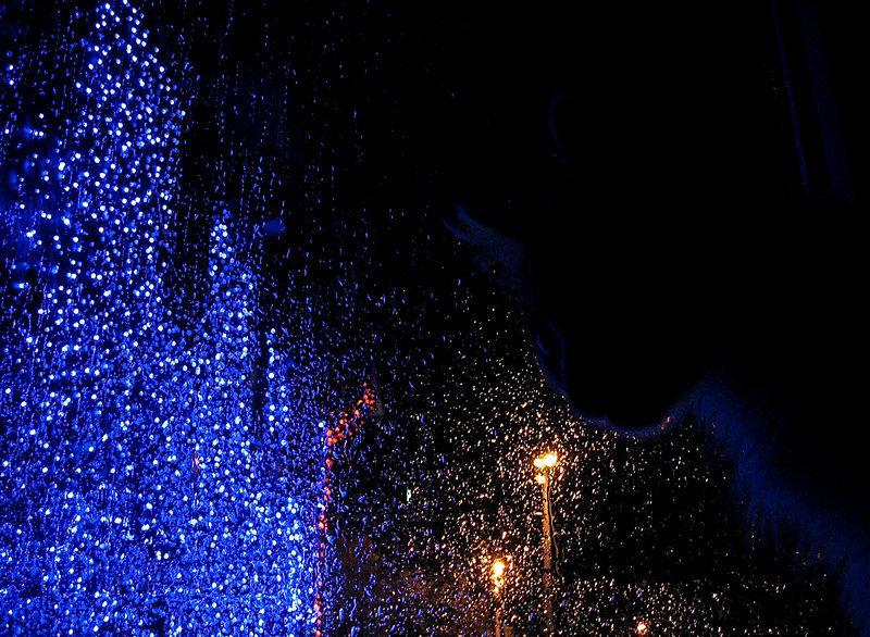 Дождь за окном.