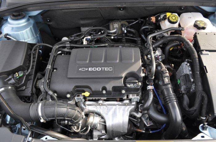 Двигатель Шевроле Круз 1.6, 1.8 Chevrolet Cruze 1.4 турбо, ремень или цепь?