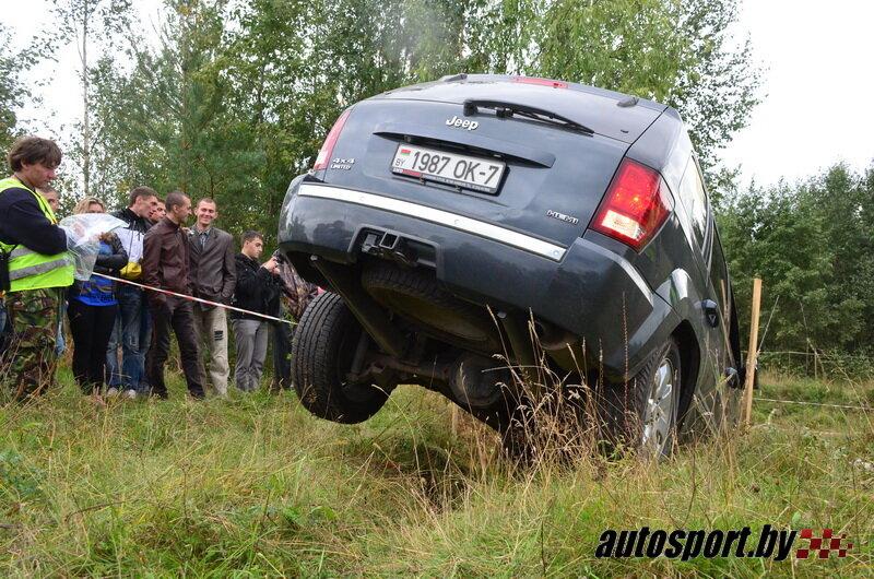 Джип-триал в Лепеле категория Light - Фото - 4x4: внедорожные гонки в Беларуси