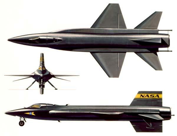 Экспериментальный самолёт North American X-15 (США)
