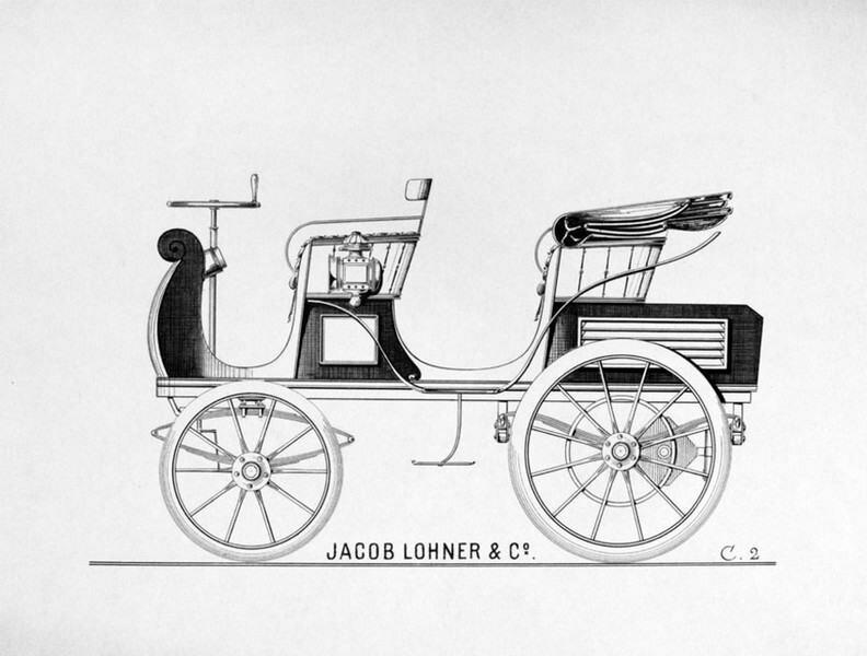 Электромобиль 1898 года (5 фото)