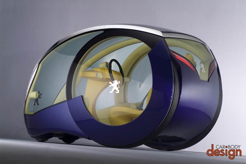 Электромобиль Peugeot Moovie Concept - описания и фото | Смотри ИНФО