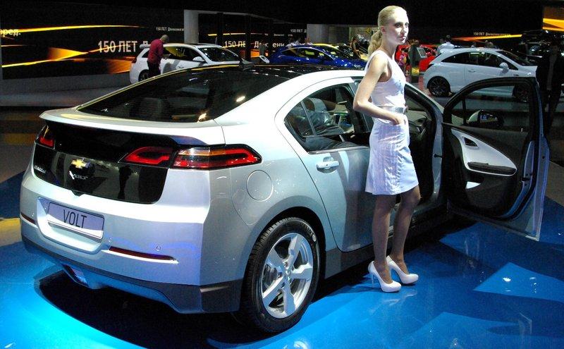 Электромобиль Шевроле Вольт ( Chevrolet Volt) в Москве фото | Автомобильно-общественный блог