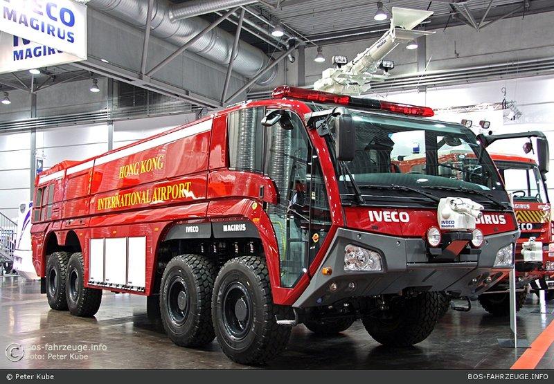 FIREDESIGN - IVECO MAGIRUS - Автомобиль аэродромный SUPER DRAGON 2 x8  ARFF 19000