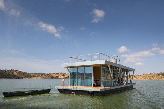 Floatwing: новый плавающий дом отдыха для искателей приключений