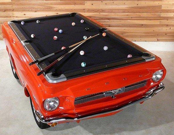 Ford Mustang бильярдный стол