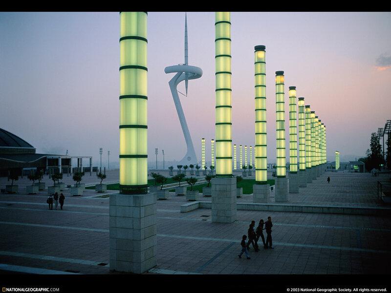 фото Европы - фото Барселоны/фото Барселоны - современные постройки