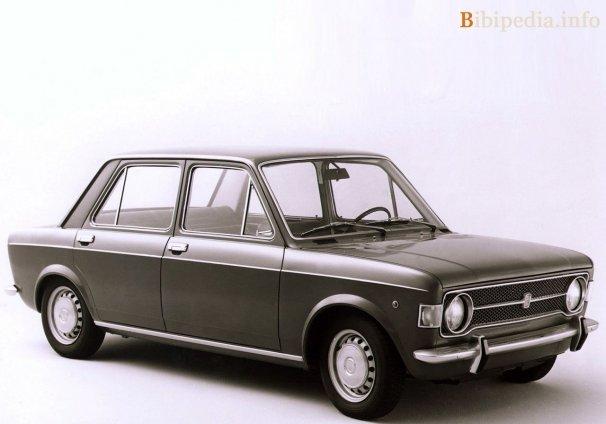 Фото  Fiat 128 saloon 1969 - 1972 — Бибипедия