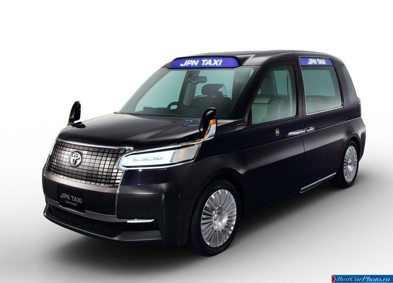 Фото о Toyota JPN Taxi Concept, фотогалерея Тойота ДжейПиЭн Такси Концепт | AutoNeva.ru