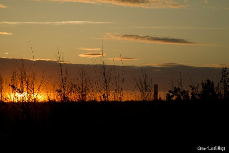 Фото заката солнца в июне - Персональный блог Stan_1