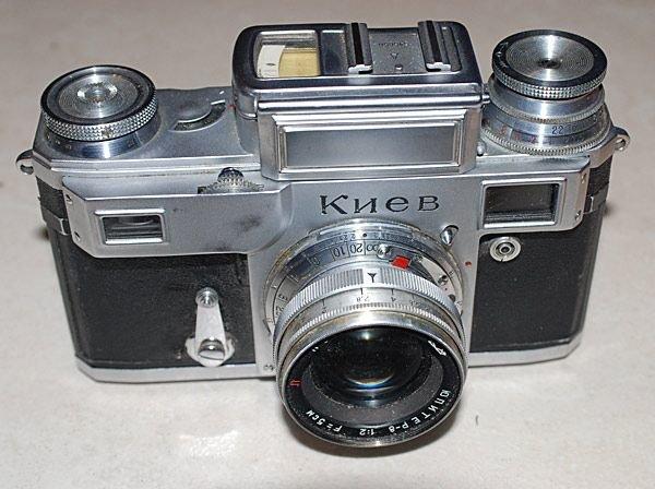 Фотоаппарат Киев-3А в коллекции Старая Камера FT0157 -  - Старинные фотоаппараты. Коллекция старинных фотоаппаратов и кинокамер