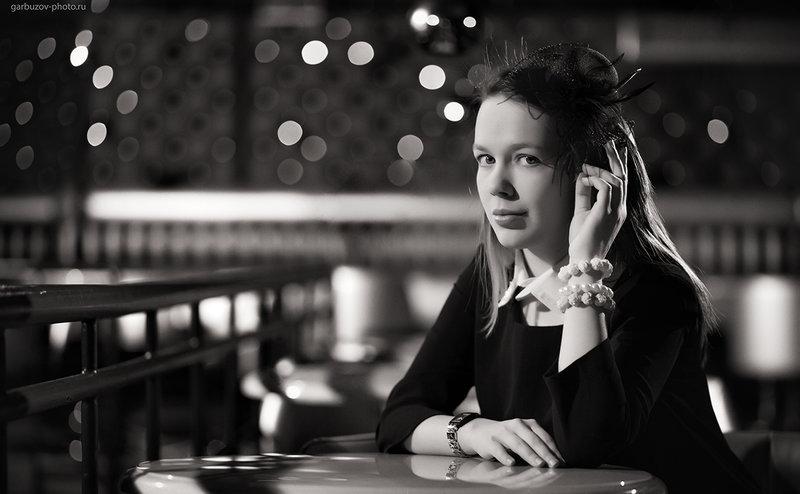 Фотограф Илья Гарбузов. Маша в Tabu.