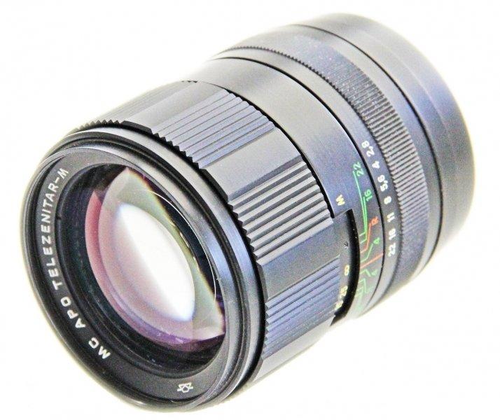 Фотообъектив Зенит МС АПО  Телезенитар-М  2,8/135 - купить | цены | обзоры и тесты | отзывы | параметры и характеристики | инструкция