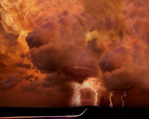Фотосъемка молний