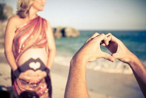 Фотосессия беременных: 3 идеи для фото