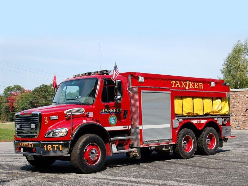 Freightliner M -Line Firetruck