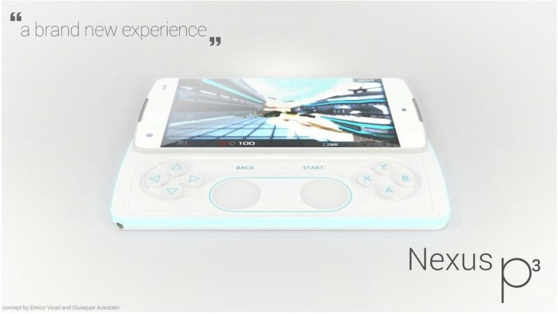 Google Nexus P3 - концепт