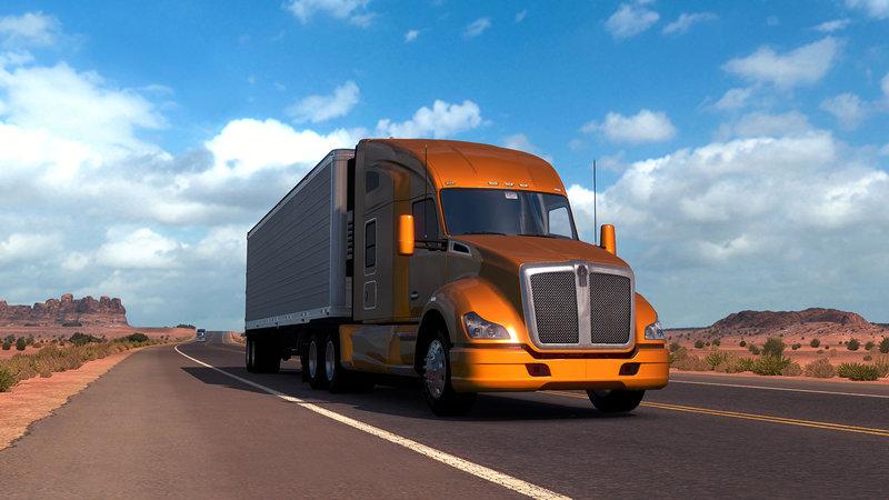 Игра American Truck Simulator : скриншоты (screenshots) из игры – GameGuru.ru