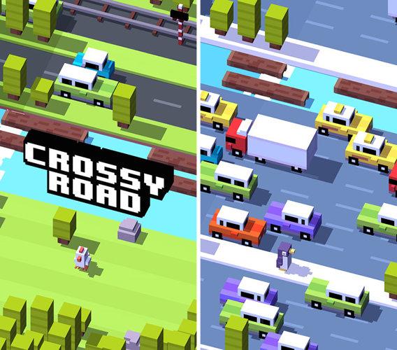 Игра crossy road для iphone и ipad