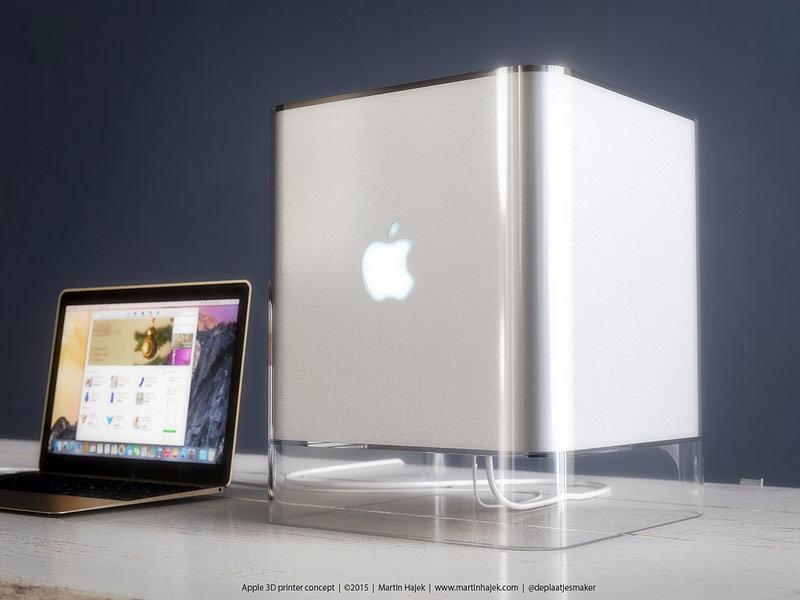 iPrinter— концепт 3D-принтера основанный напатенте Apple