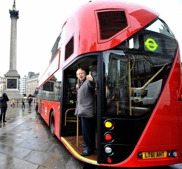 » История лондонского автобуса Это интересно!