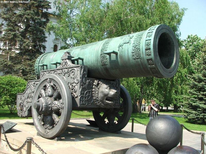 История Царь-пушки