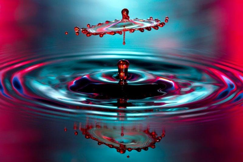 Как фотографировать брызги и капли воды. Рассказывает Корри Уайт