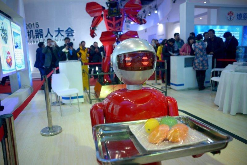 Как проходит всемирная выставка роботов в Пекине (ФОТО)