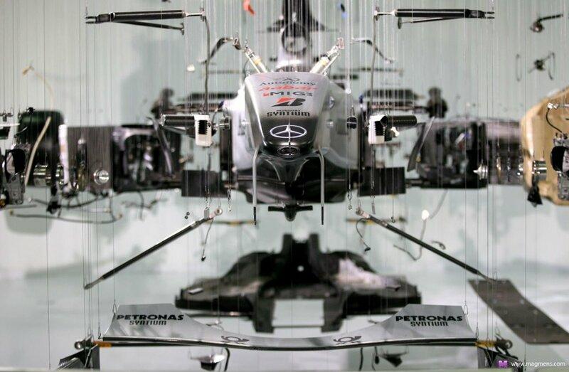 Как устроен болид Формулы 1
