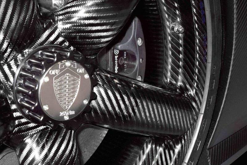 Карбоновые диски Koenigsegg