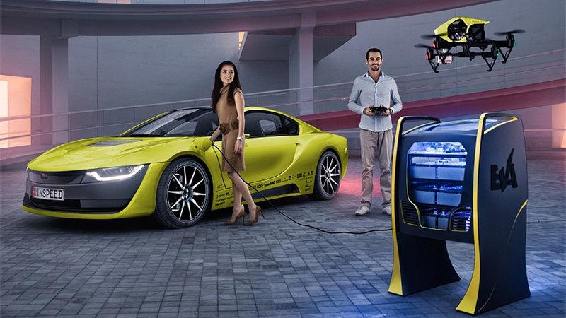 Компания Rinspeed изменила гибридный спорткар BMW до неузнаваемости. Фото 1