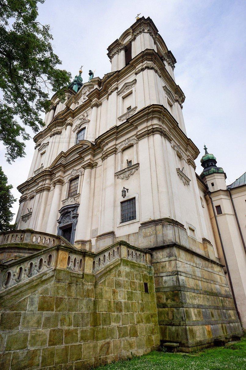 Костел Святого Станислава - Краков - маршрут Святого Станислава