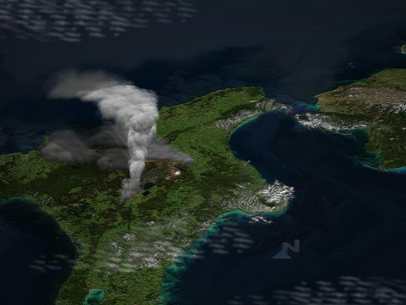 Крупнейшие извержения вулканов - Фотоблог Севрюковой Евгении