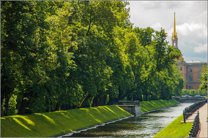 Летний сад в Санкт-Петербурге. Фото.